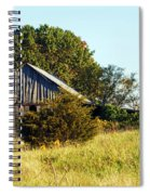 Weathered Barn In Fall Spiral Notebook