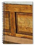 Weathered Bench - Santa Fe #2 Spiral Notebook