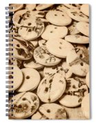 Weathered But Not Worn Spiral Notebook