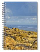 Weathered Coquina Ocean Rocks Spiral Notebook