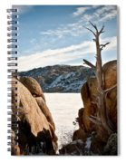 Weathered - Pathfinder Reservoir - Wyoming Spiral Notebook