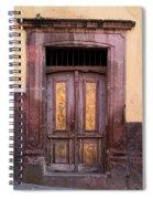 Weathered Door Spiral Notebook