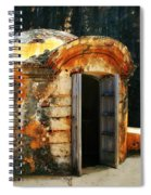Weathered Entry Spiral Notebook