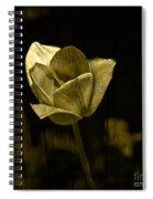 Weathered Golden Tulip Spiral Notebook