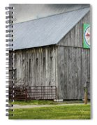 Weathered Gray Spiral Notebook