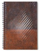 Weathered Metal Rivets Spiral Notebook
