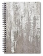 Weathered Metal Spiral Notebook
