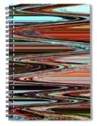 Weathered Roots Abstract Spiral Notebook