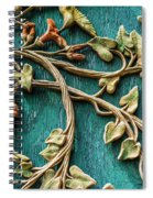 Weathered Wall Art Spiral Notebook