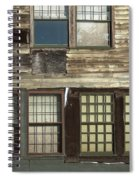 Weathered Windows Spiral Notebook