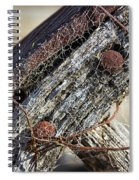 Web Covered Wheel Spiral Notebook