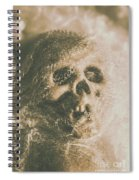 Webs And Dead Heads Spiral Notebook