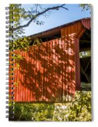 Webster/dick Huffman Covered Bridgesw Of Putnamville, Washingto Spiral Notebook