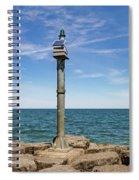 Webster Jetty Light Spiral Notebook