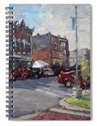 Webster Street North Tonawanda Spiral Notebook