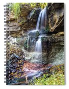 Webwood Falls Spiral Notebook