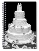 Wedding Cake Spiral Notebook