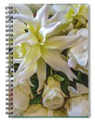 Wedding Day Bouquet Spiral Notebook
