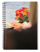 Wedding Hands Spiral Notebook