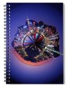 Wee Hong Kong Planet Spiral Notebook