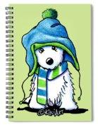 Wee Winter Westie Spiral Notebook