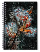Weed Galaxy Painted Version  Spiral Notebook