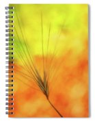 Weed Glow Spiral Notebook