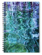 Weed Shadows Spiral Notebook