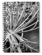 Weed Tush Bw Spiral Notebook