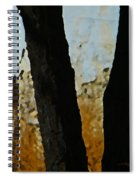 Weeds And Wall Spiral Notebook