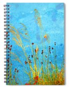 Weeds And Water Spiral Notebook