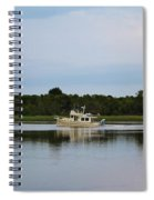 Weekend Boating Spiral Notebook