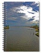 Weeks Bay At Sunset Spiral Notebook
