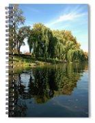 Weepin Willows Frankenmuth Cass River Spiral Notebook
