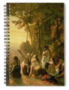 Weeping Of The Daughter Of Jephthah Spiral Notebook