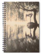 Weeping Willow Woman Spiral Notebook