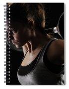 Weightlifting Spiral Notebook