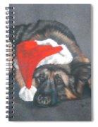 Weihnachtshund Spiral Notebook