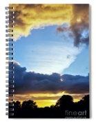Weird Weather Front Spiral Notebook