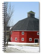 Welch Round Barn Spiral Notebook
