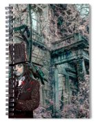 Welcome 2 My Nightmare Spiral Notebook