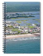 Welcome Aboard Surf City Topsail Island Spiral Notebook