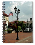 Welcome Center At Frankenmuth Spiral Notebook