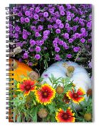 Welcome Fall Spiral Notebook