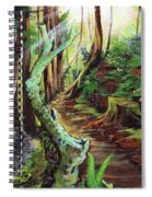 Welcome Paths Spiral Notebook