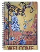 Welcome Sparrow-jp2781 Spiral Notebook