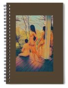 Welcome The Dusk Spiral Notebook
