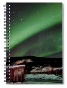 Welcome To Dawson City Spiral Notebook