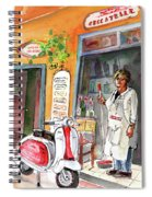 Welcome To Italy 04 Spiral Notebook
