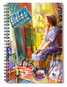 Welcome To Italy 05 Spiral Notebook